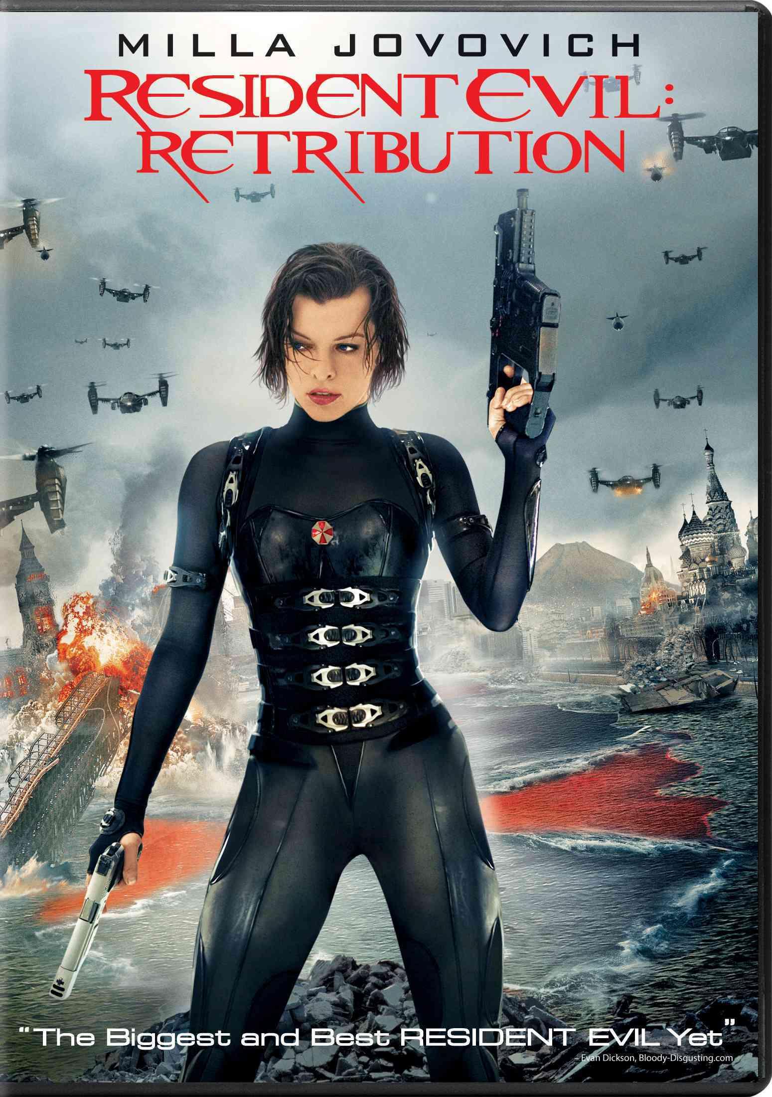 RESIDENT EVIL:RETRIBUTION BY JOVOVICH,MILLA (DVD)