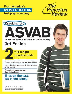 Cracking the ASVAB By Moss, Nicole/ Winn, David/ Kiehl, Andy/ Duncan-White, Delores A. (CON)